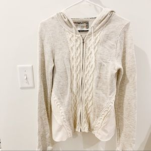 Saturday and Sunday Anthropologie hoodie jacket